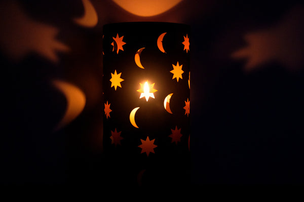 pattern candle