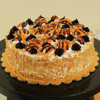 Butterscotch Cakes - for Midnight Cake Delivery on Fondant
