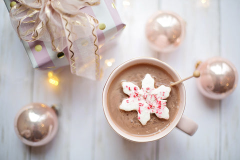 hot chocolate and gifts