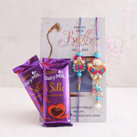 Rakhi With Chocolates - Send Rakhi to Occasion Rakhi Bhaiya Bhabhi