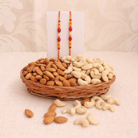 rakhi with dry fruits - Online Rakhi Delivery In Occasion Rakhi Bhaiya Bhabhi