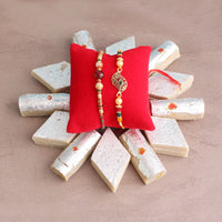rakhi with sweets - Same Day Rakhi Delivery in Occasion Rakhi Gifts For Sisters