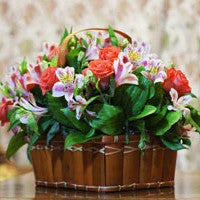 Flower With Basket - from Best Flower Delivery in Ahmedabad Satellite