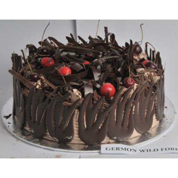 German Wild Forest Cake - for Flower Delivery in Category Cakes Premium Cakes