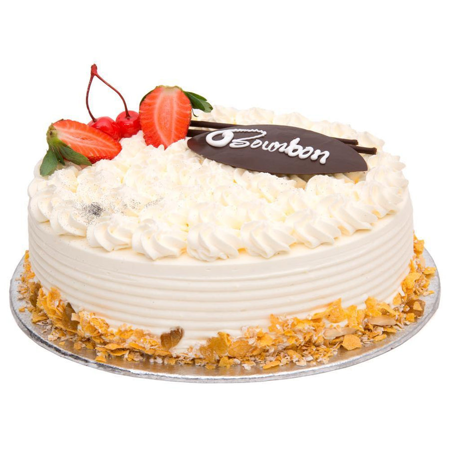 Premium French Vanilla Cake - for Midnight Flower Delivery in Category Cakes Premium Cakes