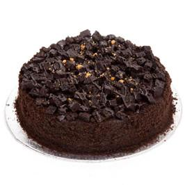 Premium Choco Mud Cake - for Midnight Flower Delivery in Category Cakes Birthday Cakes