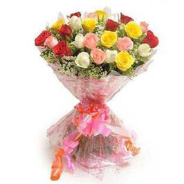Lovely Mixed Rose Bouquet