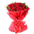 Sweet Connection 40 Red Roses Bouquet- Midnight Flower Delivery in Halvad -Product Details: 40 Red Roses Red Paper Packing Red Ribbon Bow Green Fillers Roses are famous for their connection with love, and we will serve the same with the help of a bouquet of 40 fresh roses all packed gracefully to express your feelings to your loved one on your special occasion.   While we always strive to ensure that products are accurately represented in our photographs, from season to season and subject to availability, our florists may be required to substitute one or more flowers for a variety of equal or greater quality, appearance and value.
