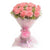 Marvelous Pink Carnation Bouquet- - for Online Flower Delivery In India -A lovely bouquet of 24 pink carnations A symbol of love and care, a perfect gift for all occasions. 24 fresh pink carnations are hand picked and turned into this beautiful bouquet with pink wrapping papers.   While we always strive to ensure that products are accurately represented in our photographs, from season to season and subject to availability, our florists may be required to substitute one or more flowers for a variety of equal or greater quality, appearance and value.