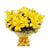 Grand Yellow Lily Bouquet- - for Online Flower Delivery In India -A vibrant bouquet of 5 yellow lily sticks. For the love and passion of yellow flowers! When you want to send something exciting and unexpected, this is your go-to guy. Some Lilies may arrive in bud form, ready to bloom into full beauty in 2-4 days