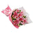 Princess Pink Lily Bouquet- - from Best Flower Delivery in India -Product Details: 6 Pink Lilies Pink Paper Packing Pink Ribbon Bow Seasonal Fillers A very attractive bouquet of 6 Pink Lily Stems A beautiful and pure bouquet for the princess of your life.   While we always strive to ensure that products are accurately represented in our photographs, from season to season and subject to availability, our florists may be required to substitute one or more flowers for a variety of equal or greater quality, appearance and value.