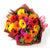 Sunshine Gerbera Bouquet- -A beautiful bouquet of 20 mixed gerberas for all your warm wishes.   While we always strive to ensure that products are accurately represented in our photographs, from season to season and subject to availability, our florists may be required to substitute one or more flowers for a variety of equal or greater quality, appearance and value.
