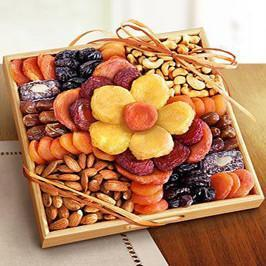 Delicious and Healthy Dry Fruits Pack - for Midnight Flower Delivery in India