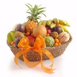 4 KG Oval Fresh Fruits Basket - from Best Flower Delivery in India