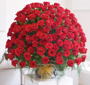 200 Red Roses Premium Bouquet - from Best Flower Delivery in India