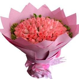 75 Pink Roses-Premium Bouquet - from Best Flower Delivery in India