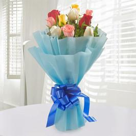 Mini Colorful Hues - for Flower Delivery in India
