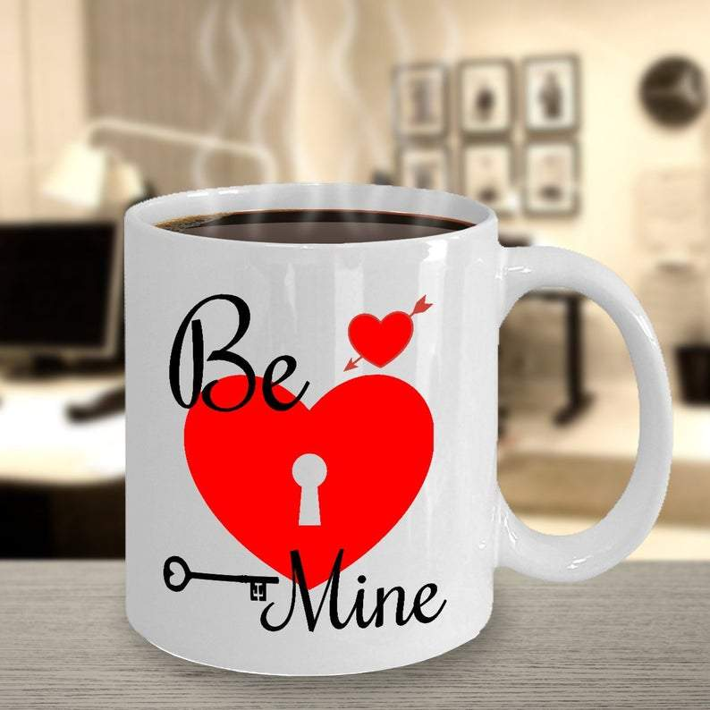 Be Mine Mug - for Online Flower Delivery In India