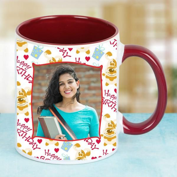 Birthday Mug For Friend - for Flower Delivery in India