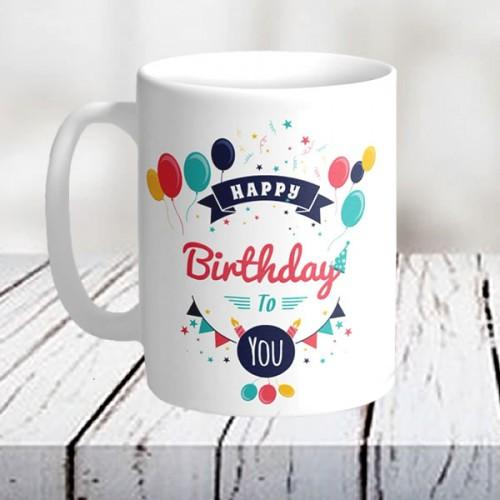 Birthday Wishes Mug - from Best Flower Delivery in India