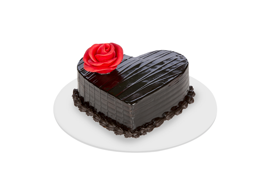 Bitter Sweetheart Choco Cake - for Flower Delivery in India