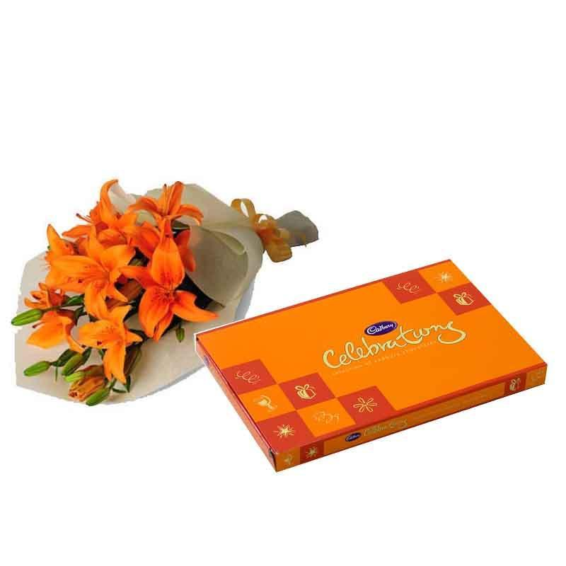 Warm Wishes - for Online Flower Delivery In India