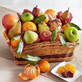 Seasonal Fresh Fruit Basket 10 KG - for Flower Delivery in India
