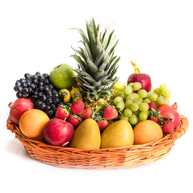 Deluxe Fruit Basket - from Best Flower Delivery in India