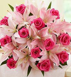 Red And Pink Beauty - from Best Flower Delivery in India