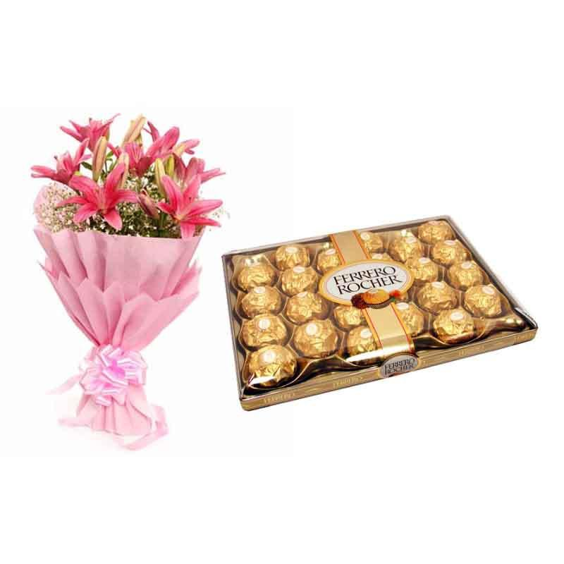 Exotic Beauty - for Flower Delivery in Category Gifts Birthday