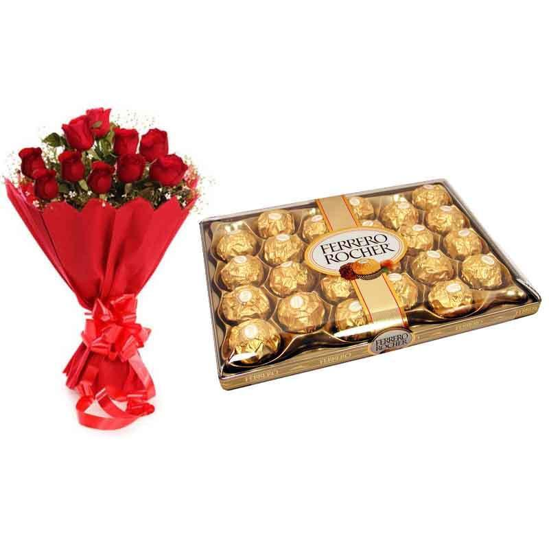 Choco Bloom Delight - from Best Flower Delivery in Occasion Gifts Christmas