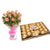 Love Wrap- - This exciting combo of Flowers and Chocolates contains: 10 fresh pink Roses bunch One Ferrero Rocher 24 pcs While we always strive to ensure that products are accurately represented in our photographs, from season to season and subject to availability, our florists may be required to substitute one or more flowers for a variety of equal or greater quality, appearance and value.