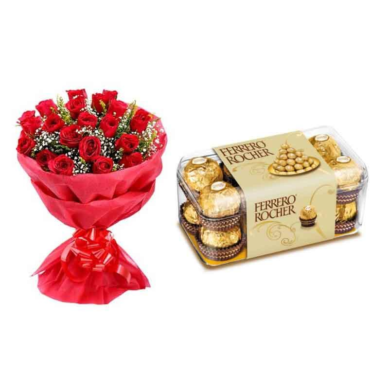 Fall in Love - for Midnight Flower Delivery in Category Gifts Anniversary