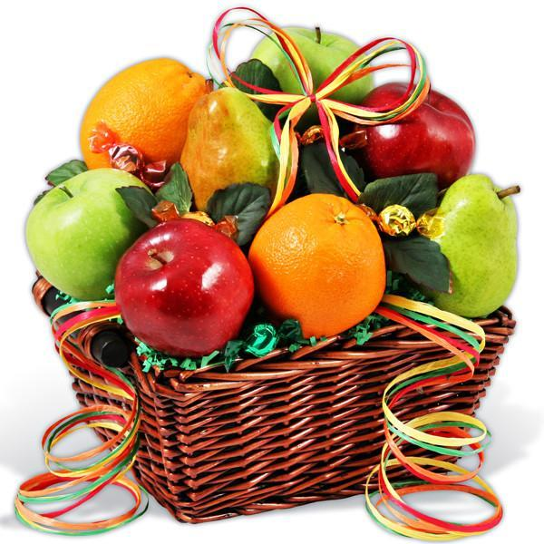Exotic Fresh Fruit Basket 3 KG - Send Flowers to Occasion Gifts Christmas