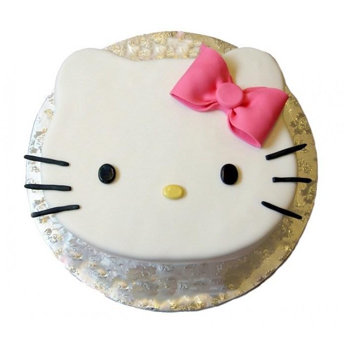Hello Kitty Cute Fondant Cake - from Best Flower Delivery in India