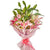 Just to Impress- - for Midnight Flower Delivery in Occasion | Valentines Day | Flowers -An arrangement of lovely lily filled with the glossy green stem of lilies which contrasts beautifully with the pretty color of the lily flowers. Simple, and very stylish, this hand-tied bouquet is a fabulous gift to impress someone. Includes A bunch of 6 stem of lilies 12 flowers of lovely Pink Oriental Lilies.