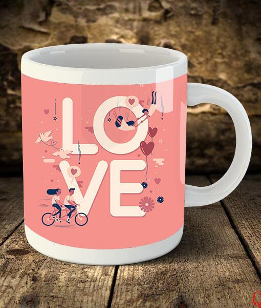 Love Mug - Send Flowers to India
