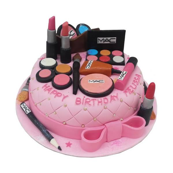 Mac-Nificent Makeup Kit Cake - for Flower Delivery in India