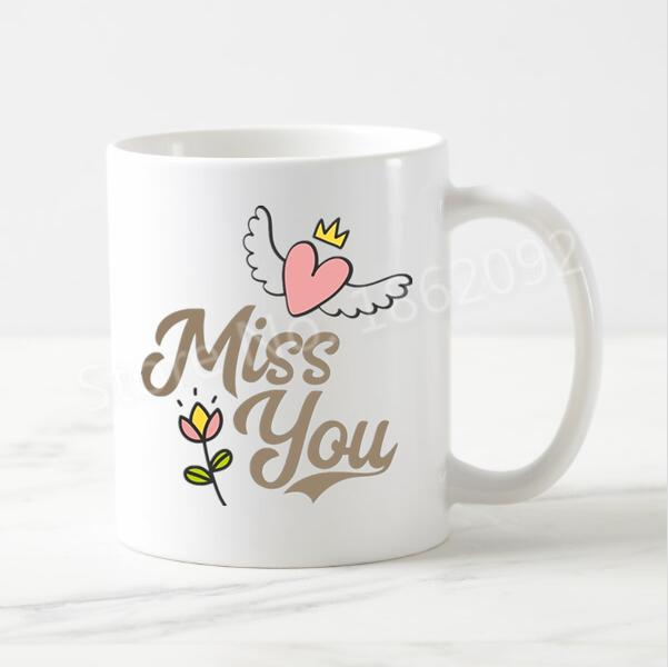 Miss You Mug - for Midnight Flower Delivery in India