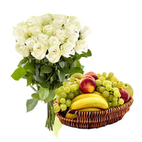 Flower and Fruits Combo - from Best Flower Delivery on Category | Combos |and Cakes and Cakes