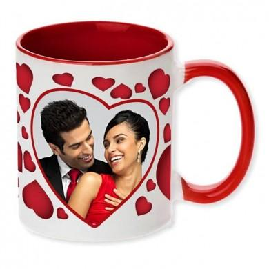Personalised Anniversary Mug - for Flower Delivery in India