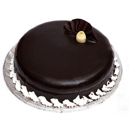 Premium Dark Chocolate Cake - for Midnight Flower Delivery in India