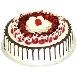 Blackforest Cake with Cherry - for Flower Delivery in India