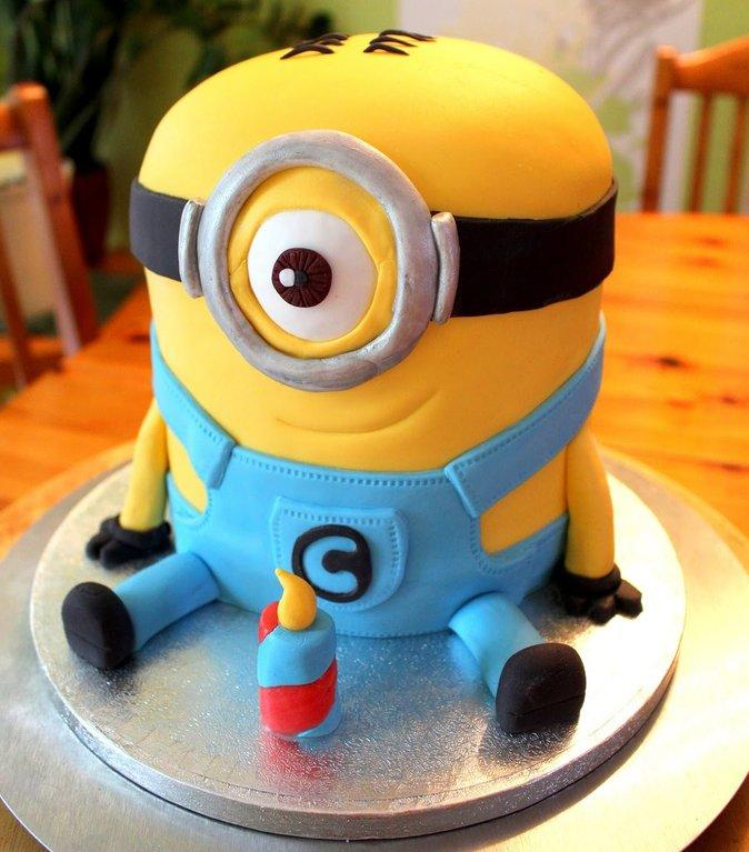 Rocking Minion Cake - from Best Flower Delivery in India
