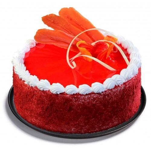 Special Red Velvet Cake - for Flower Delivery in India
