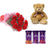 Heavenly Love- Midnight Gift Delivery in Category | Gifts | Combos - This exciting combo of Flowers, Chocolates and Teddy contains: 10 fresh red carnations bunch One 6 inch Teddy 3 Dairy Milk Silk chocolates While we always strive to ensure that products are accurately represented in our photographs, from season to season and subject to availability, our florists may be required to substitute one or more flowers for a variety of equal or greater quality, appearance and value.