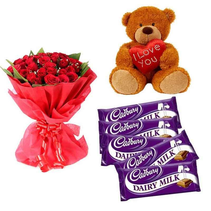 Feel Of Love - for Midnight Flower Delivery in Gifts Online