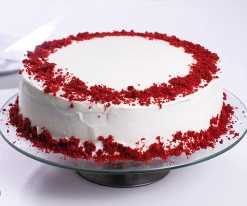 Velvety Vanilla Cake - Send Flowers to India