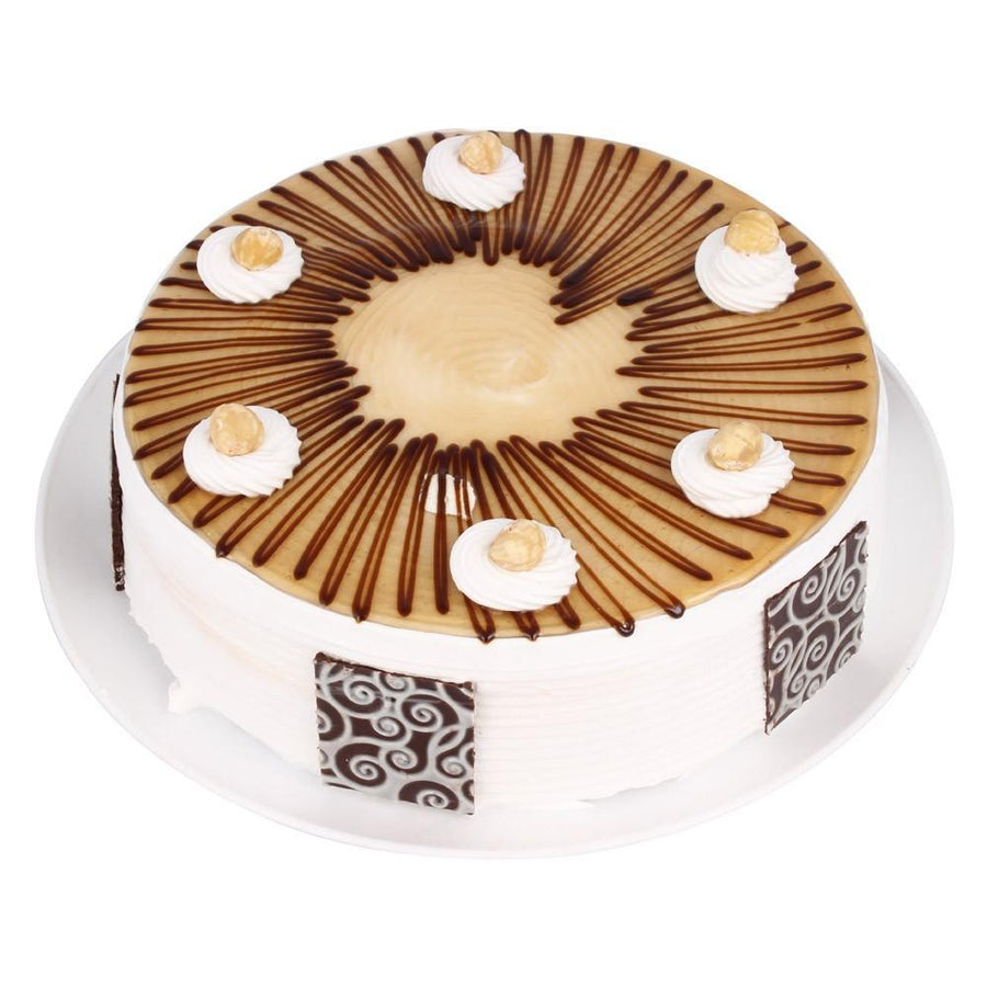 Warm Delight Hazelnut Cake - for Online Flower Delivery In Main | Cakes