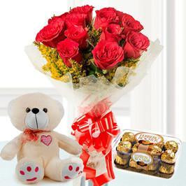 All The Best - for Midnight Flower Delivery in Valentine Gifts For Girlfriend
